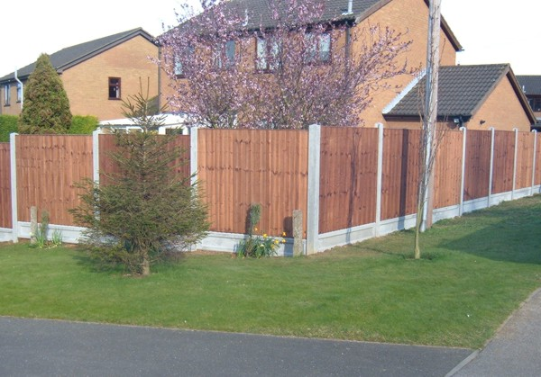 Garden Panel Fencing Basildon Essex