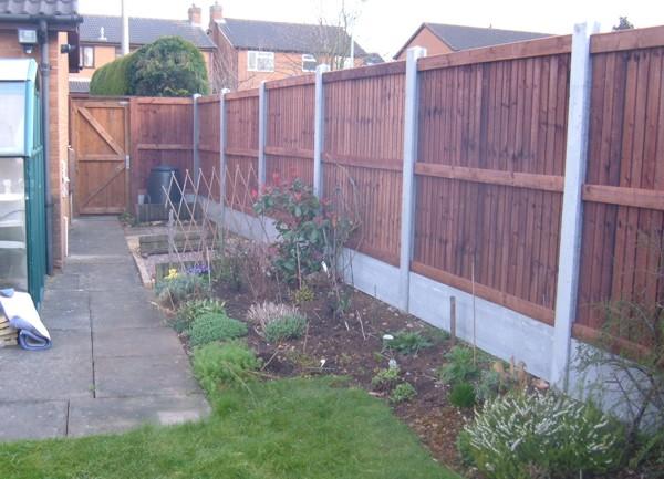 Garden Panel Fencing Corringham Es