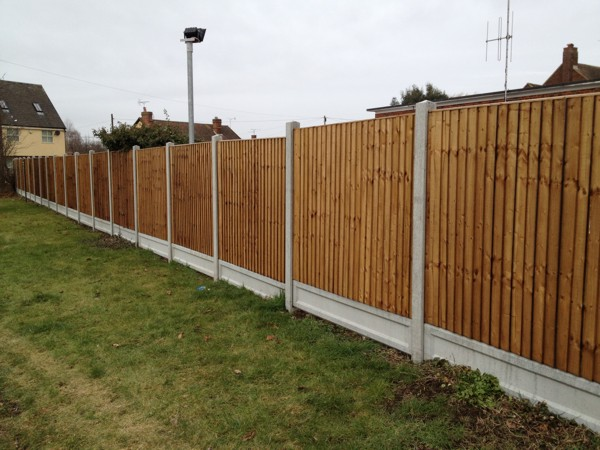 Panel Fencing Company Basildon Essex New Panel Fencing