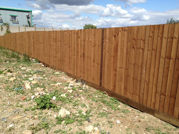 Close Boarded Fencing Basildon Essex