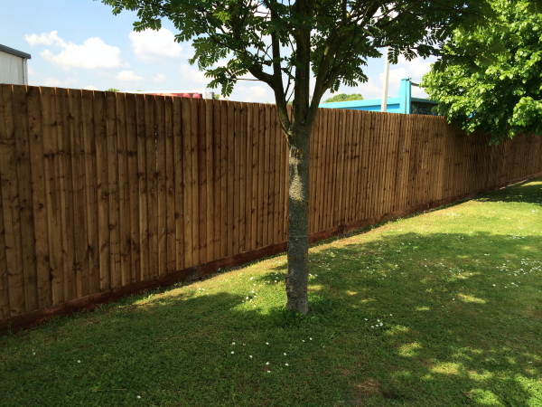 Close Boarded Garden Fencing Chelmford Essex