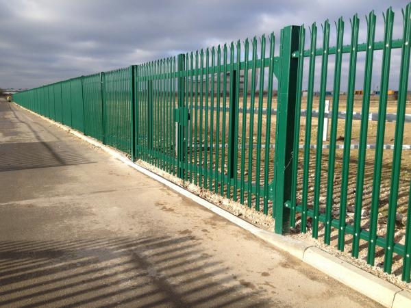 Palisade security fencing belvedere kent