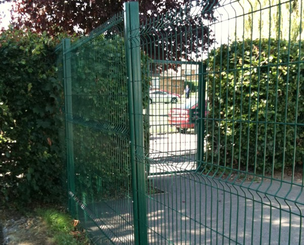 V Mex Mesh Panel Fencing, Security Fencing Brentwood, Essex, Industrial Fencing