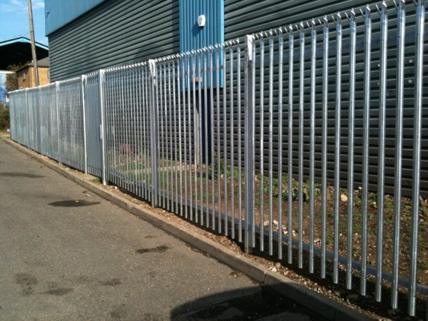 Palisade Fencing, Security Fencing East Tilbury, Industrial Fencing