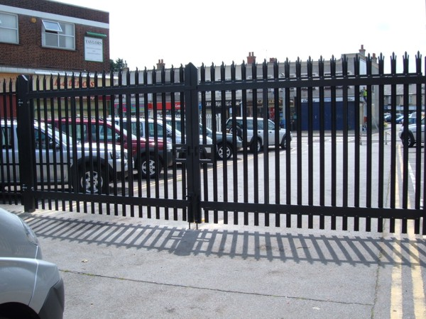 Palisade Security Fencing Contractors Rayleigh Essex